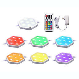 Black & Decker™ Color Changing LED Puck Under Counter Light Kit with Remote