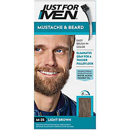 Just For Men® Mustache and Beard Brush-In Color Gel in Light Brown