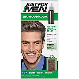 Just For Men® Shampoo Hair Color in Light Medium Brown H-30