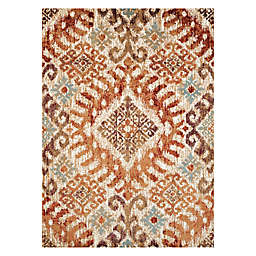 United Weaver Bridges Verazanno 7'10 x 10' 6 Area Rug in Crimson