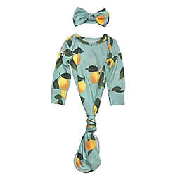 Toby Fairy™ Size 0-3M Lemon Gown and Headband Set