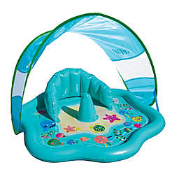 SwimSchool® Level 1 Baby Splash Mat with Canopy in Blue