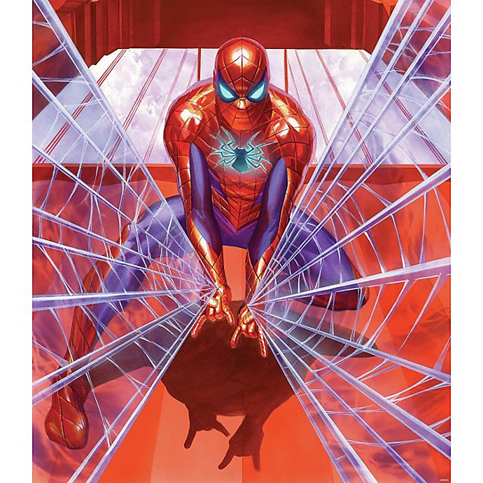 Alternate image 1 for RoomMates® Marvel® Alex Ross Spider-Man 52-Inch x 60-Inch Tapestry