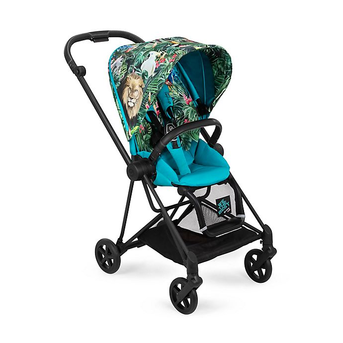 Alternate image 1 for CYBEX by DJ Khaled We The Best MIOS Stroller with Matte Black Frame and We The Best Seat Pack