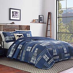 Eddie Bauer® Eastmont Reversible Quilt Set in Navy