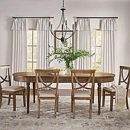 Mercantile Drop Cloth Light Filtering Window Curtain Panel (Single)