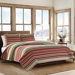 Eddie Bauer® Yakima Valley 2-Piece Twin Quilt Set in Red