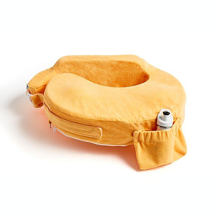 Alternate image 1 for My Brest Friend® Deluxe Nursing Pillow in Sunrise Orange