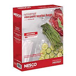 NESCO® 50-Count 11-Inch x 16-Inch Vacuum Sealer Bags