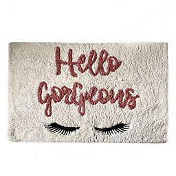 "Elrene Home Fashions ""Hello Gorgeous"" Bath Rug"