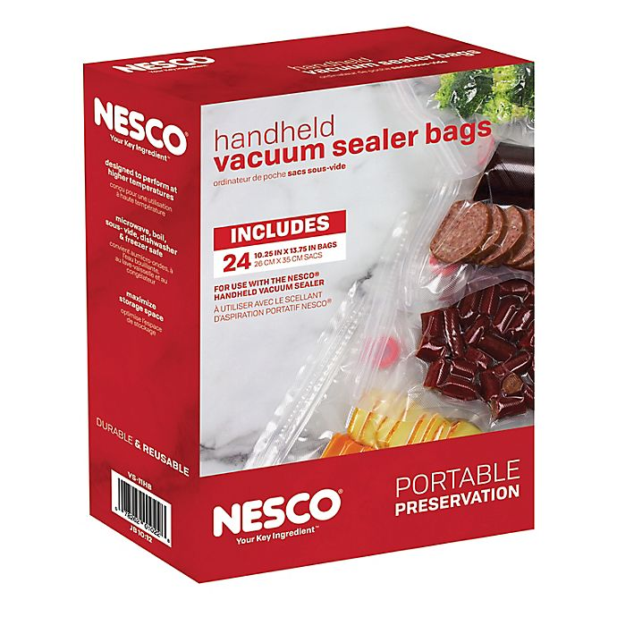 Alternate image 1 for Nesco® 24-Count Vacuum Sealer Bag