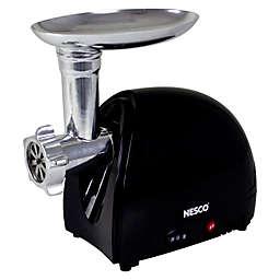 Nesco® FG-100 Food Grinder in Stainless Steel/Black