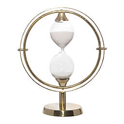 Home Essentials & Beyond 14.5-Inch Sand Timer in Gold