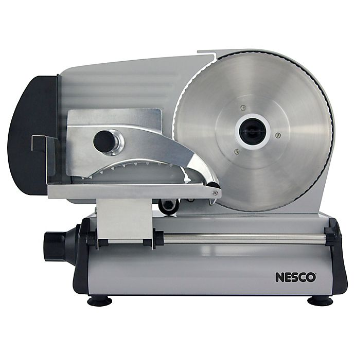 Alternate image 1 for Nesco® FS-250 Food Slicer in Stainless Steel/Black