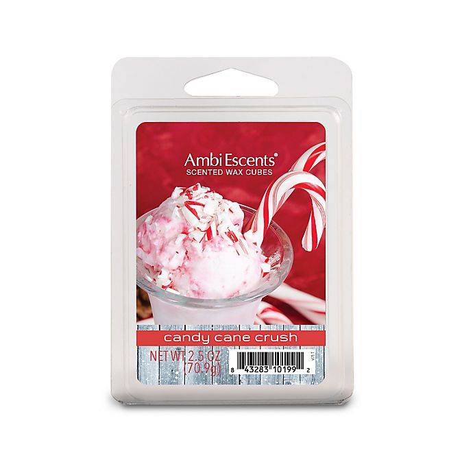 Alternate image 1 for AmbiEscents™ Candy Cane Crush 6-Pack Scented Wax Cubes