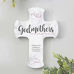 Godparents Are Special Personalized Wall Cross