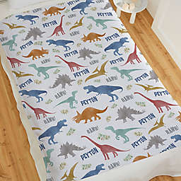 Baby Dinosaur World Sweatshirt Blanket