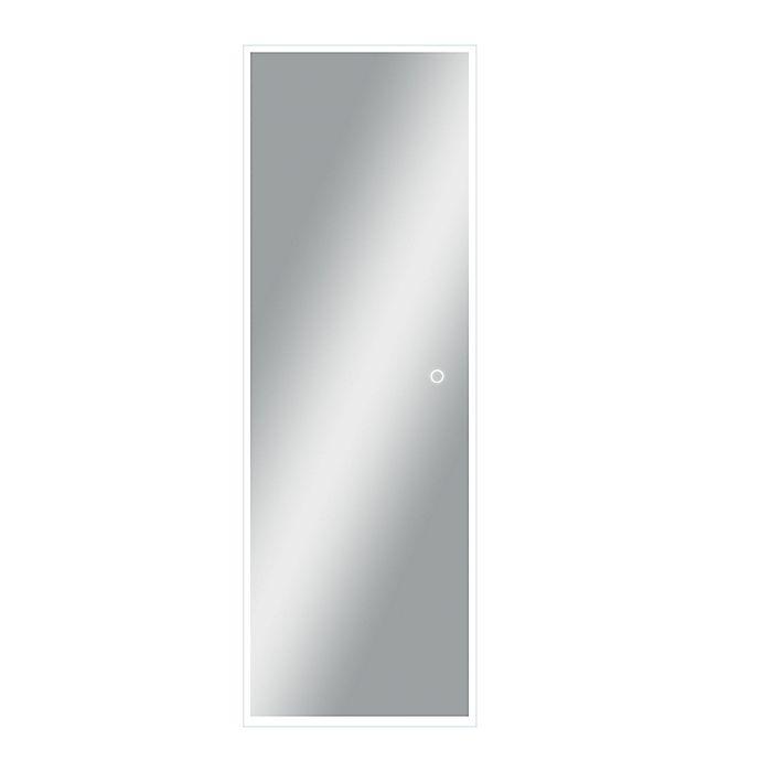 Alternate image 1 for Neutype 64-Inch x 21-Inch LED Full-Length Rectangular Wall Mirror in Sliver