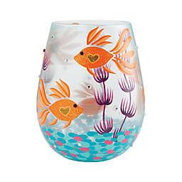 Lolita®  Fish Underwater Stemless Wine Glass