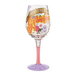 """Lolita """"Promoted to Grandma"""" Wine Glass"""