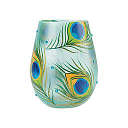 Lolita® Peacock Stemless Wine Glass
