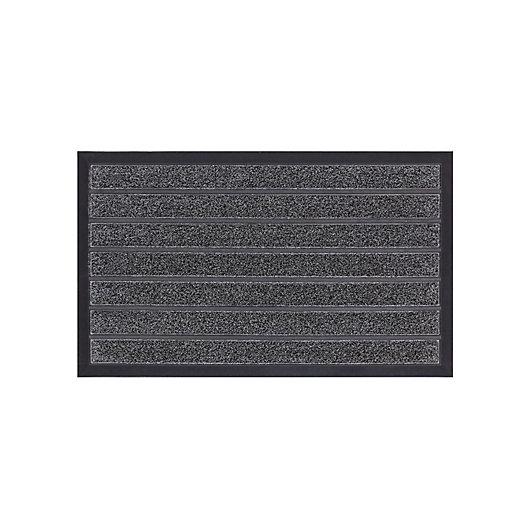 Alternate image 1 for Mohawk Home® Clean Sweep Door Mat in Grey