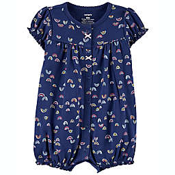 carter's® Rainbow Cloud Snap-Up Romper in Blue