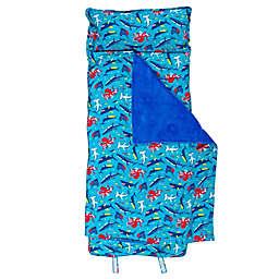 Stephen Joseph® All Over Shark Print Nap Mat in Blue