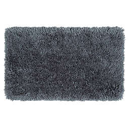 Simply Essential™ Plush 2'2 x 3'8 Shag Accent Rug in Grey/Charcoal