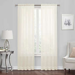 Simply Essential™ Voile Rod Pocket Sheer Window Curtain Panel (Single)