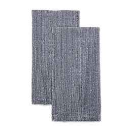 Our Table™ Textured Napkins in Navy (Set of 2)