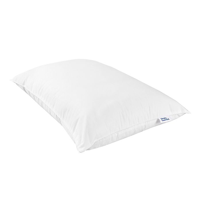 Alternate image 1 for Simply Essential™ Cotton Blend Bed Pillow