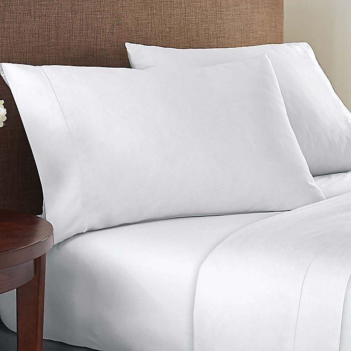 Alternate image 1 for Therapedic® Wholistic™ 400-Thread-Count Performance Sateen Sheet Set
