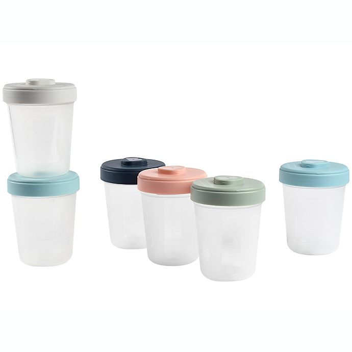 Alternate image 1 for BEABA® Clip 6-Piece Food Storage Container Set