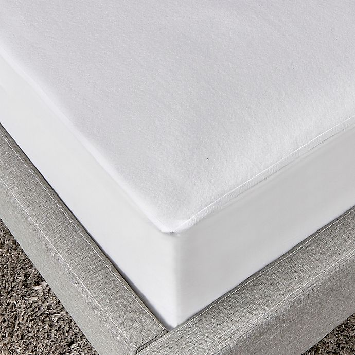Alternate image 1 for Simply Essential™ Waterproof Fitted Queen Mattress Cover