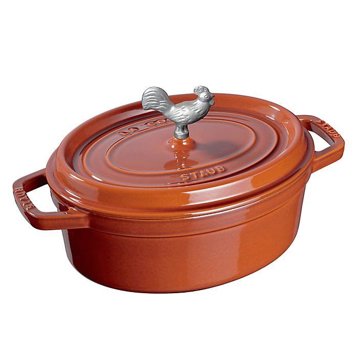 Alternate image 1 for Staub Cocotte Cookware in Burnt Orange
