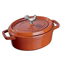 Staub Cocotte Cookware in Burnt Orange
