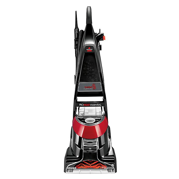 Alternate image 1 for BISSELL®  Proheat® 1887 Essential Upright Carpet Cleaner in Black/Red
