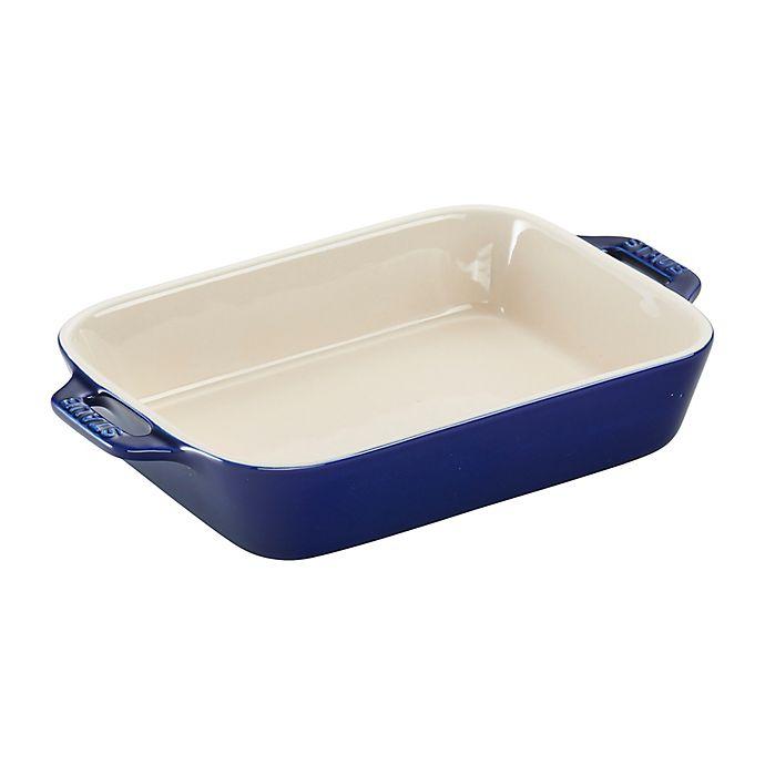 Alternate image 1 for Staub 1.25-Quart Rectangular Baking Dish