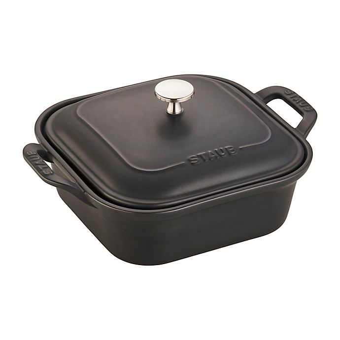 Alternate image 1 for Staub 9-Inch Square Covered Baking Dish