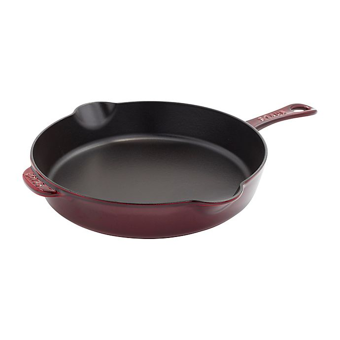 Alternate image 1 for Staub 11-Inch Enameled Cast Iron Traditional Skillet
