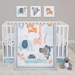 Sammy & Lou 4-Piece Koala & Friends Crib Bedding Set in Navy/Blue