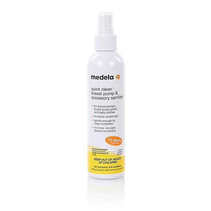 Alternate image 1 for Medela® 8 oz. Quick Clean Breast Pump & Accessory Sanitizer