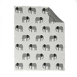 Baby's First by Nemcor Elephant Cotton Stroller Blanket