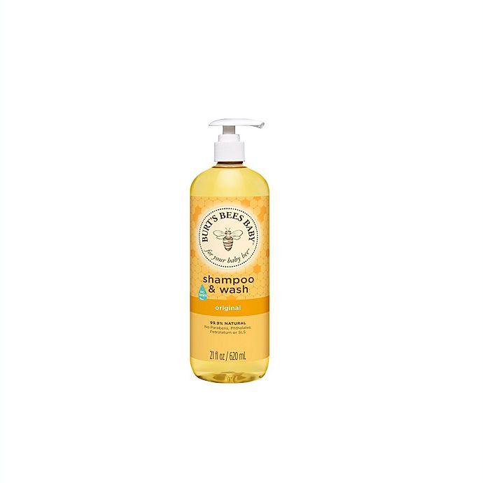 Alternate image 1 for Burt's Bees® Baby Bee® 21 oz. Original Shampoo & Wash