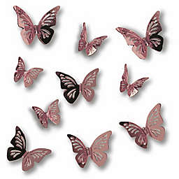 RoomMates® 3D Peel & Stick Butterfly Mirror Stickers