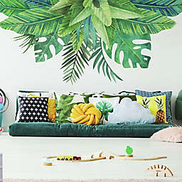 RoomMates® Watercolor Tropical Leaves Wall Decals in Green (Set of 5)