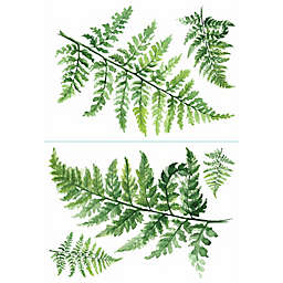 RoomMates® Watercolor Fern Peel and Stick Wallpaper in Green