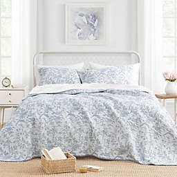 Laura Ashley® Amberley Reversible Quilt Set