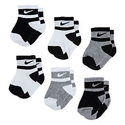 Nike® 6-Pack Swoosh Socks in Black/White/Grey
